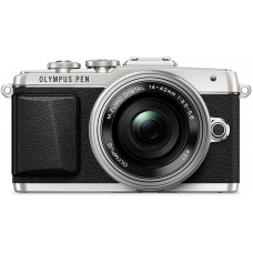 Цифровая системная фотокамера OLYMPUS E-PL7 Kit (14-42) Silver/Silver
